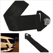 High Strength Nylon Tow Strap Car Front/Rear Bumper Hook Heavy Duty Hauling Rope
