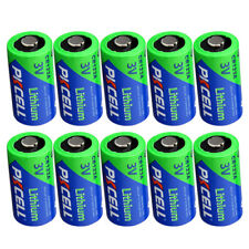 123A CR123A CR17345 3 Volt Lithium Camera Photo Batteries pack of 10