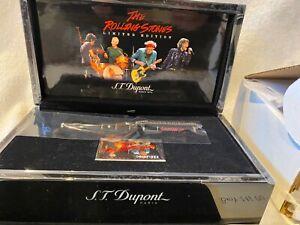 S.T. Dupont L.E. Rolling Stones Black Lacquer Fountain Pen
