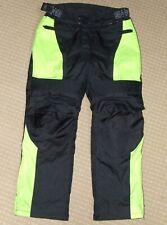 BIKERS GEAR AUSTRALIA Textile Motorcycle Trousers UK34