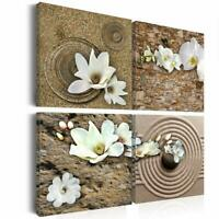 Large Canvas Prints Art Home Decor White Flower Wall Paintings for Living Room