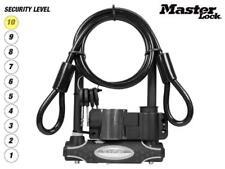 Master Lock 8274 U-Bar Bike Lock 210x110x13mm + Cable Bicycle Security LVL 10