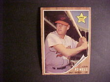 1962   TOPPS  BASEBALL SET BREAK  # 99  BOOG  POWELL   (R)    EX+