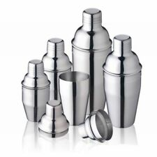 Stainless Steel Cocktail Shaker Mixer Wine Party Bar Tools 250/350/550/750ml