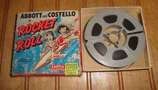 ABBOT & COSTELLO ROCKET & ROLL 50' B/W Super 8mm Reel Film COMPLETE