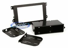 Scosche VW2317AB Single/Double DIN Install Dash Kit for 2006-Up VW Jetta/GTI