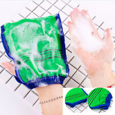 Bamboo Bath Mitten Shower Exfoliating Beauty Massage Skin Care Glove Mit Wash