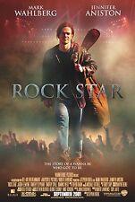 ROCK STAR (2001) ORIGINAL MOVIE POSTER  -  ROLLED