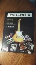 '05 PRINT AD FOR Line 6 Variax 600 Time Traveler Guitar
