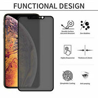 Privacy Anti-See Tempered Film Glass Protector Screen For iPhone 11 / Pro / Max