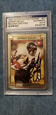 1990 Action Packed Johnny Bailey Signed Card PSA/DNA