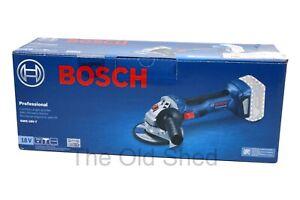 BOSCH 18V BRUSHLESS 125MM ANGLE GRINDER SKIN GWS 18V-7
