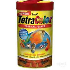 NEW TetraColor Tropical Flakes 62g