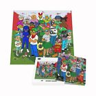 Sealed Hebru Brantley The Family Jigsaw Puzzle 1,000 Pieces w/Poster