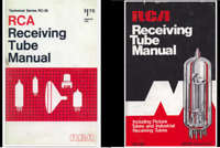 RCA RECEIVING TUBE MANUAL RC-30 1975 & RC-26 1968* PDF* + BONUS FILES ON  CD
