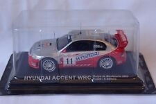 HYUNDAI ACCENT WRC Loix / Smeets 2003 M-CARLO RALLY 1/43  ALTAYA / IXO