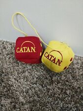The Settlers of Catan Board Game Plush Dice Car Rearview Mirror Hanger Stuffed