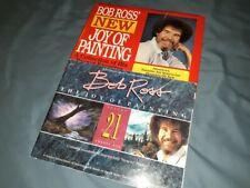 Vintage Bob Ross Books! New Joy of Painting AND VOLUME 21!!!