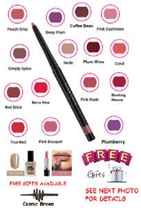 Avon True Glimmerstick Lip Liner- 16 Shades - Multi-Buy Discount
