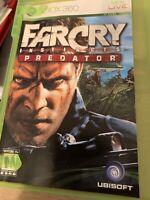 Far Cry Instincts No Manual Predator Microsoft Xbox 360, 2006