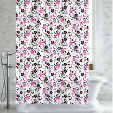 "PEVA-EVA Shower Curtain/Liner Adriana Floral Print 70"" x 72"""