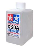 Tamiya X-20A Acrylic Paint Thinner 250ml Bottle - 81040