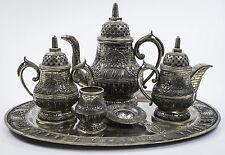 YOGYA 6 Piece Tea and Coffee Service, 800 Standard Silver