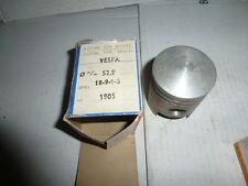 PIAGGIO VESPA pistone ASSO misura 52,9 canna 52 nuovo completo
