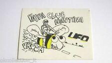 ADESIVO MOTO anni'80 /Old Sticker Autocollant Vintage VESPA PIAGGIO (cm 12x9) h
