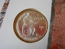 2.000 LIRE 1999 FDC MUSEO ROMANO ARGENTO 835/1000 REPUBBLICA ITALIANA