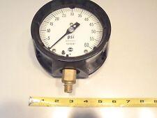 "Solfrunt 0-60 psi gauge with 1/2"" brass mp"