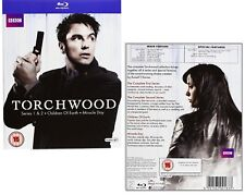 TORCHWOOD 1-4 (2006-2011) COMPLETE w. CHILDREN OF EARTH + MIRACLE DAY - BLU-RAY