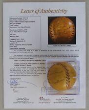 1942 AL Champions NY Yankees Team Signed Baseball, DiMaggio, Rizzuto +23
