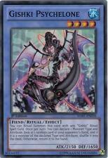 Yu-Gi-Oh Yugioh Gishki Psychelone HA07-EN056 Super 1st Near-Mint!