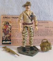 Vintage Hasbro GI Joe ARAH 1984 V1 Recondo  Complete W/File Card  HK COO/NM!