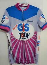 Vintage Clement GIS Gelati Jolly Road Cycling Jersey Size L