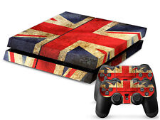 SONY PS4 PlayStation 4 SKIN Design Adesivo Pellicola Protettiva Set - Union Jack