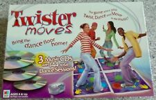 Twister Moves Game, Twist, Dance, and Move, Milton Bradley, 144 Dance Sessions