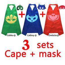 Unbranded PJ Masks Costume Capes