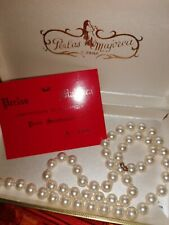 Collana perle autentiche