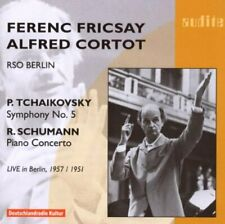 Ferenc Fricsay - Tchaikovsky: Symphony No. 5 and R. Schumann: Piano Conc. [CD]