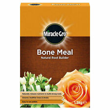 Miracle Gro Bone Meal Natural Root Builder Greener Healthier Trees Shrubs 1.5kg