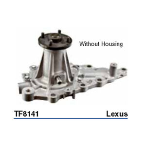 Tru-Flow Water Pump (GMB) TF8141 fits Lexus IS IS300 (ASE30R)