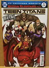 TEEN TITANS #12 1ST PRINT COVER B 1ST FULL BATMAN WHO LAUGHS (LOW GRADE VG+ 4.5)