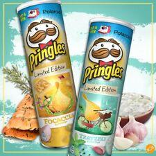 2 x Pringles Focaccia & Tzatziki Flavors Limited Edition Potato Chips 200g 7oz