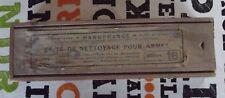 Ancienne Boîte de Nettoyage pour Armes Saint-Étienne Manufrance chasse