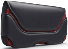 Samsung Galaxy S8/ S9/ S10 Phone Holster Red w/ Belt Clip Loop Holder Case Pouch