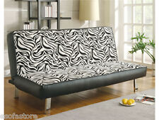 Sofa Beds Contemporary Styled Sofa Sleeper with Fold Down Futon Seat Back 300230