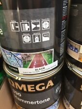 PAINT BLACK - Hammertone Finish 4 Litre! Perfect for Trailers!