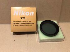 Nikon polarizzatore circolare 72mm Nuovo.